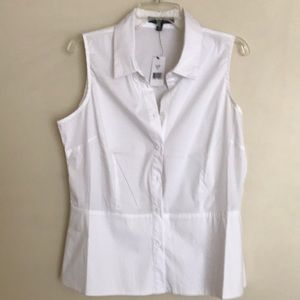 White Shirt. By Saks Fifth Avenue